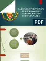 La Escuela Politécnica Del Ejército (Espe)
