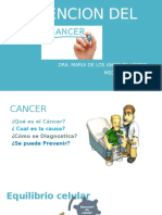 CANCER Power Point Mederi Agosto 2015