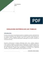 HISTORIA DE LOS TÚNELES.