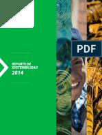 Reporte 2014 de sostenibilidad