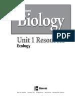 Unit 1 Biology