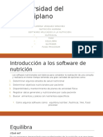 Presentaciòn de Software Nutrcionales