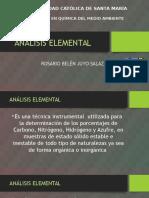 Análisis Elemental
