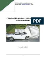Cálculos hidrológicos e Hidráulicos para Obras Municipais.pdf