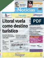 Últimas Noticias Vargas domingo 17 de julio de  2016