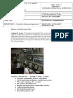 SOP Security Post Order