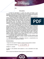 148577Aula 1 - C.C. - Fisica - Bruno Rinaldi - Eletrostatica