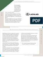 Lexus. Manual de Mantenimiento