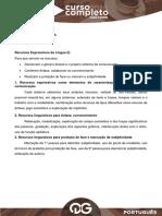 148535Aula 2 - C.C. - Lingua Portuguesa - Lucia Deborah - Recursos Expressivos Da Lingua I