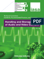 Handling and Storage of Audio and Video Carriers. IASA_TC05