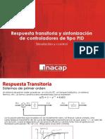 Respuesta Transitoria y Sintonizacion Simulación y Control