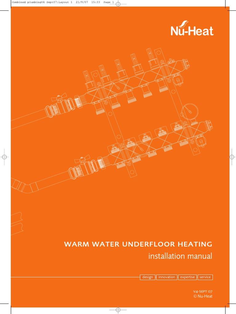WRG-4274] Nu Heat Underfloor Heating Wiring Diagram on