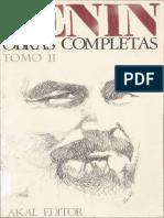 Obras completas de Lenin. Tomo II