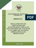 Anexo 5 - Cuadro de Niveles Operacionales