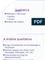 1 Analise Qualitativa