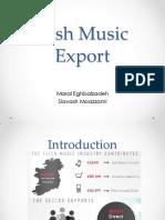 Irish Music Export