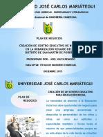 Plan de Negocio Iep Ebenezer