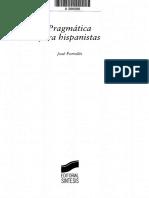 Pragmática para hispanistas