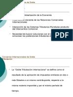 Convenios Internacionales de Doble Tributacion