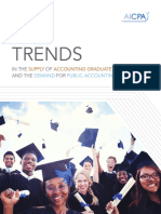 2015 TRENDS IN THE SUPPLY OF ACCOUNTING GRADUATES AND THE DEMAND FOR PUBLIC ACCOUNTING RECRUITS