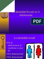Sexualidadd y Homosexualidad en La Adolescencia