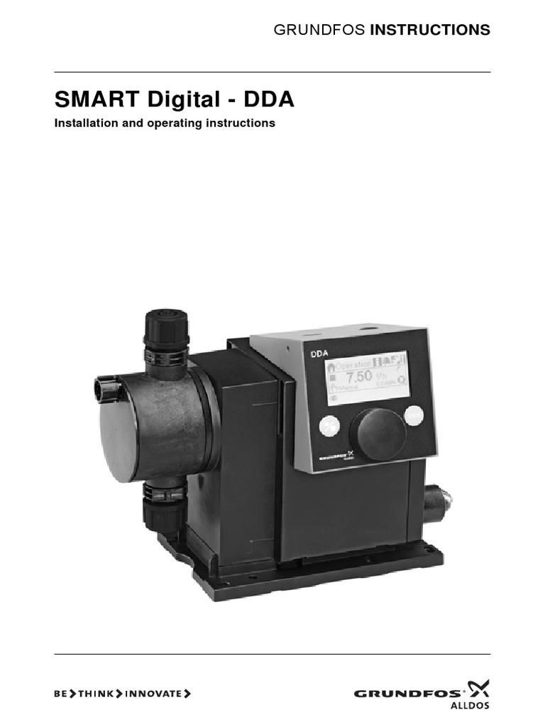 Grundfos Alldos Dda Smart O M Manual Safety Pump Wiring Instructions