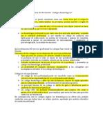 Resumen Del Documento Códigos Deontológicos