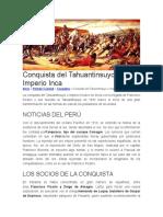 Conquista del Tahuantinsuyo o Imperio Inca.docx
