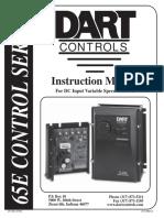 Dart 65E10 Motor Control Manual
