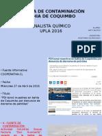 Noticia Contaminación en Coquimbo