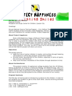 Project Happiness Proposal