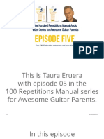 Episode.05  100 Repetitions Guitar Manual For Kids 05-10