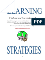 Learning Strategies Manual