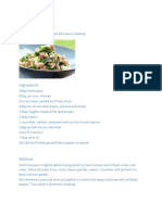 Pea,Tuna White Bean Salad