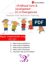 ECCD in Emergencies for DRR Roll-out_brgy Re-echo1