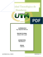 Informe de Proyecto de Manufactura