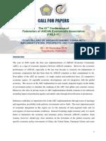 CFP & TOR 41st FAEA-2nd Announcement