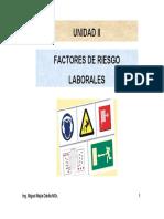 2. Factores de Riesgo Laboral