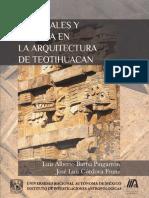 Materiales y Energia en La Arquitectura de Teotihuacan