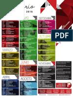 Calendario Cursos y Eventos 2016