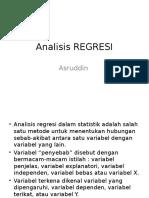 Materi Regresi