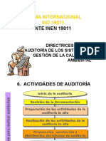 Auditorias Actividades 24.08.2013