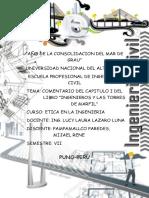 Comentario Del Libro Ingenieros y Las Torres de Marfil