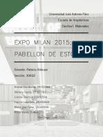 Pabellon Estonia Expo Milan 2015