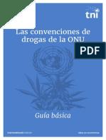 Las Convenciones de Drogas de La ONU
