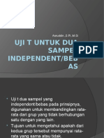 Independent Sampel t Test