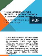 Resumen Clave_plan Estratégico 2015_2018