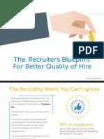 The Recruiter Blueprint 4 Better Hires 2016