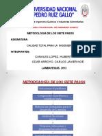 METODOLOGIA DE LOS SIETE PASOS.ppt