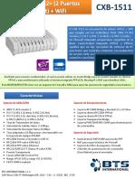 Modem Router Wifi CBX-1511 ADSL Aba Cantv